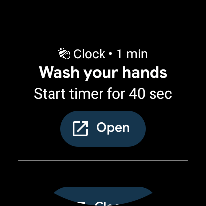 Wash Your Hands Reminder